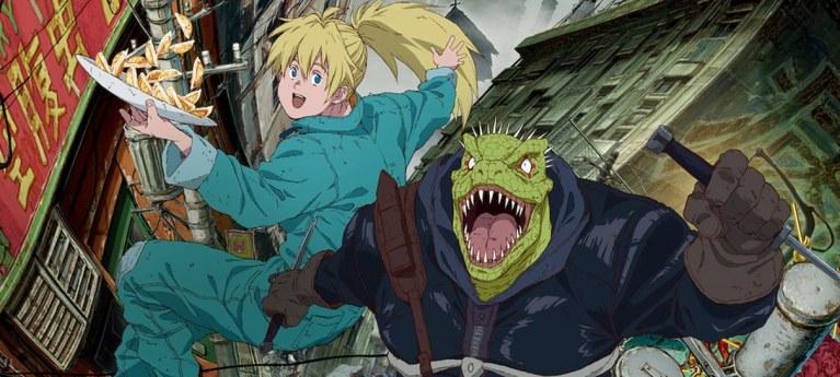 Dorohedoro é o novo anime que você pode ver na Netflix