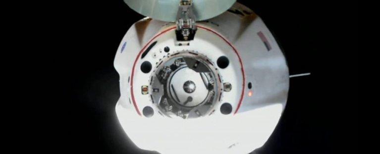 SpaceX conseguiu levar astronautas até a Estação Espacial Internacional com segurança