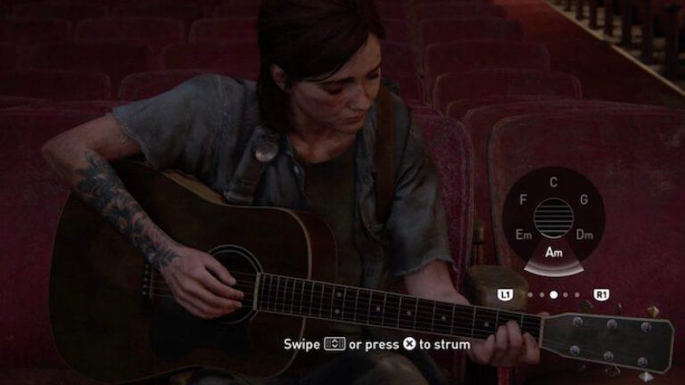 Em 'The Last of Us 2', jogares estão tocando todo tipo de música com a mecânica de violão encontrada no game