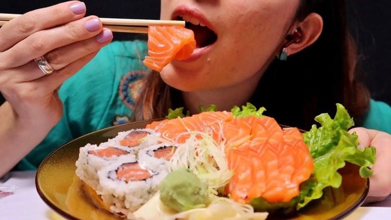 Lombriga é encontrada na amígdala de mulher depois dela ter comido sashimi