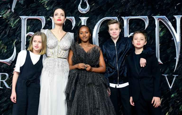 Assim estão os filhos de Angelina Jolie e Brad Pitt