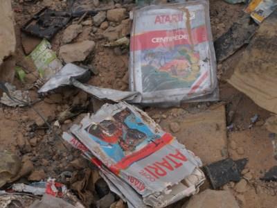 Atari E T  Dig  Alamogordo New Mexico 14036097792, Fatos Desconhecidos