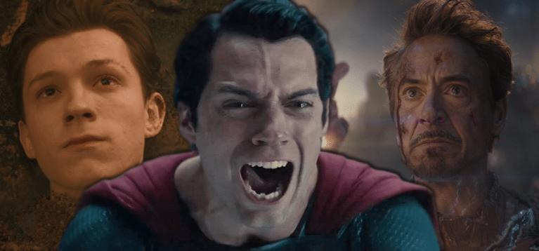 7 mortes inesquecíveis em filmes de super-heróis
