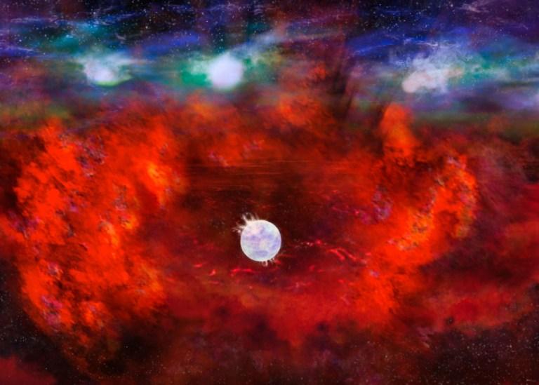 Astrônomos descobrem uma estrela que parece ter somente 33 anos