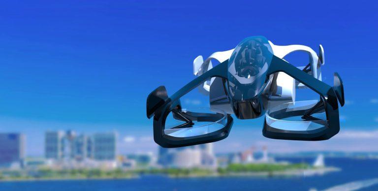 Carros voadores estão se tornando realidade no Japão