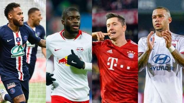 20 jogadores mais valiosos das semifinais da Champions League