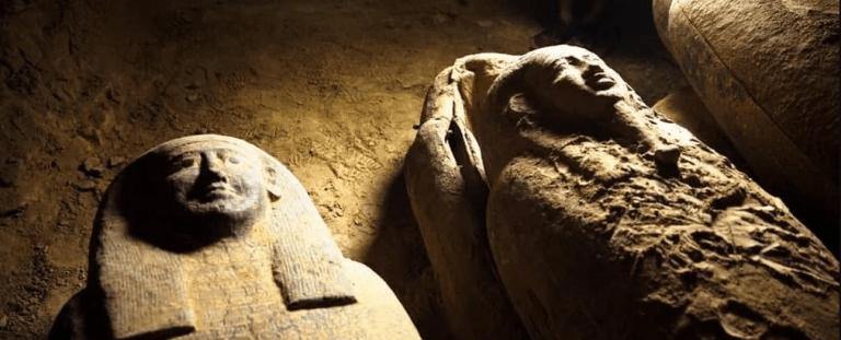 13 caixões lacrados de 2500 anos atrás foram descobertos no Egito