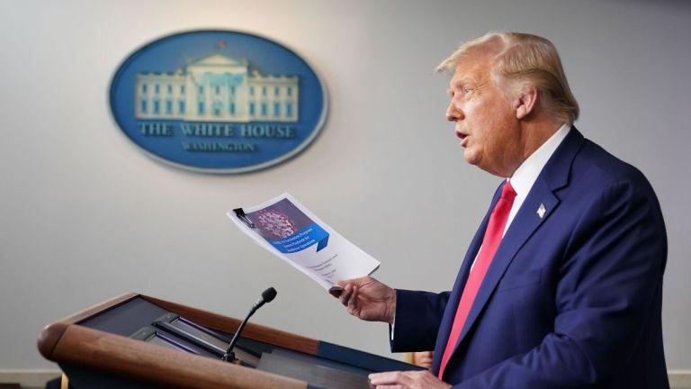 Carta destinada a Donald Trump possuía substância letal no envelope