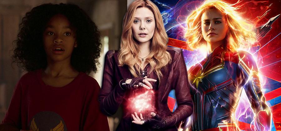 WandaVision pode introduzir uma nova Capitã Marvel