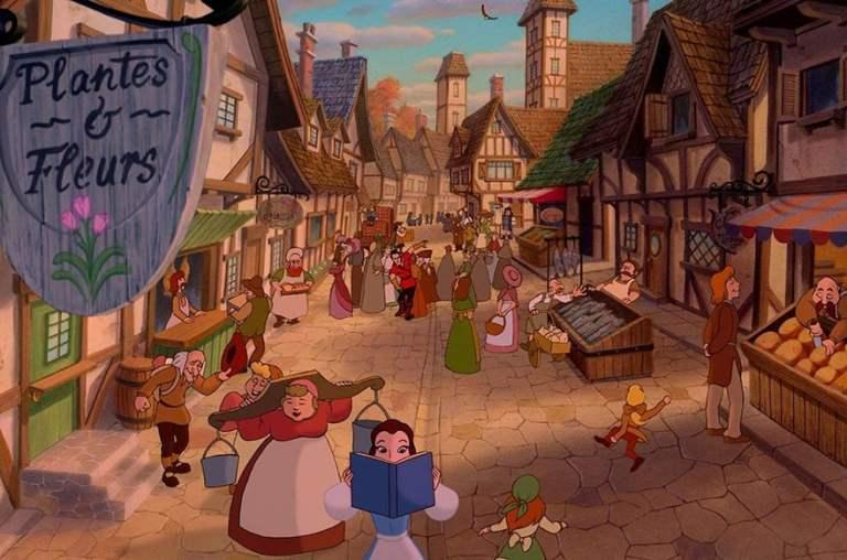 A cidade do filme 'A Bela e a Fera' existe e é ainda mais impressionante
