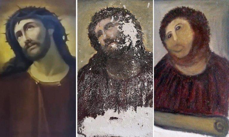 7 vezes que restaurações de obras de arte viraram catástrofes