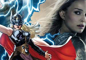 imagem post Natalie Portman fala sobre a trama de Thor: Love and Thunder