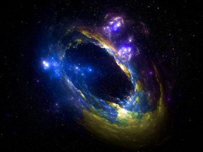 Podem existir mini universos fractais dentro de buracos negros carregados
