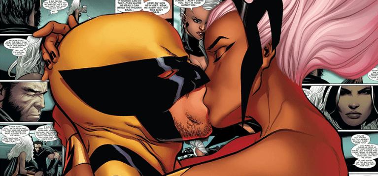 Wolverine e Tempestade podem engatar romance nos quadrinhos