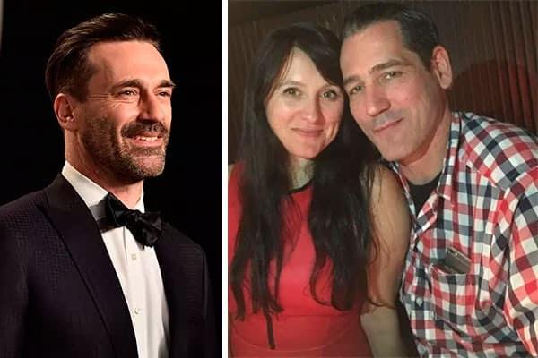 Mulher fez uma simpatia com a foto de Jon Hamm e se casou com sósia do ator