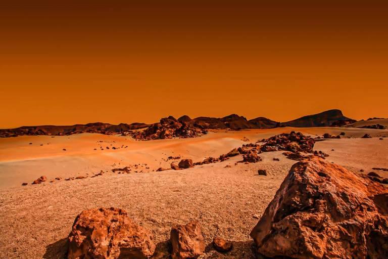 Cientistas identificam o melhor lugar para existir vida em Marte