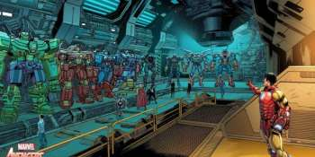 capa do post Vingadores ganham robôs gigantescos em nova aposta da Marvel