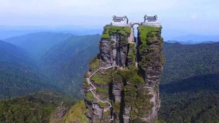 Monte Fanjing: a montanha sagrada dos templos gêmeos