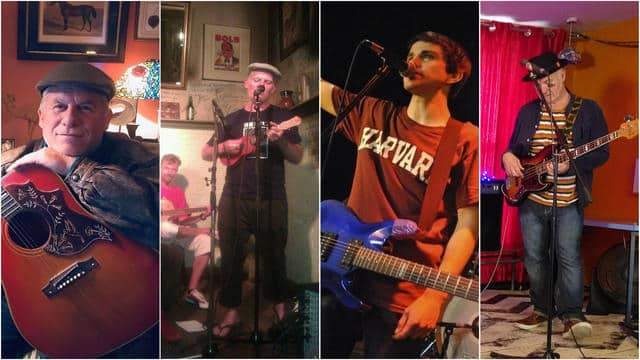 Quatro desconhecidos com o mesmo nome se unem para formar uma banda