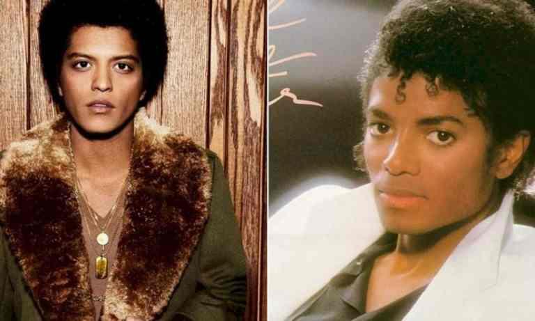 Conheça a teoria de que Bruno Mars é filho de Michael Jackson