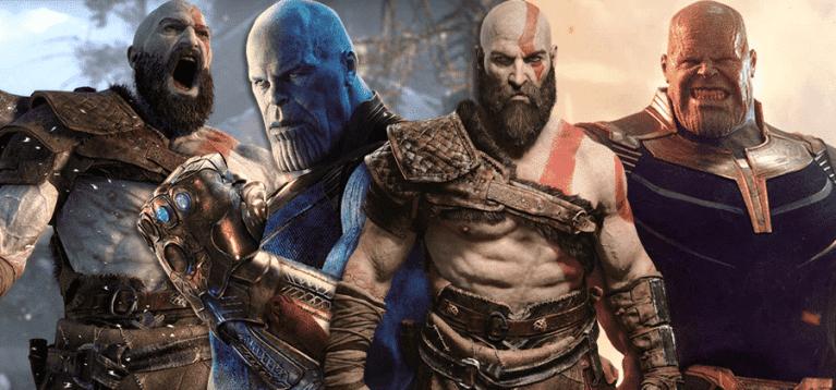 Thanos vs Kratos: quem venceria uma luta?