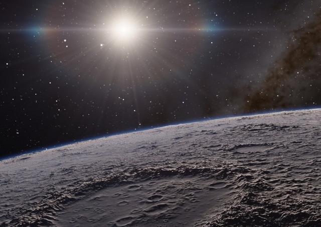 Essa imagem impressionante da lua foi tirada da Terra