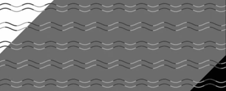 Essa ilusão de ótica pode mostrar se você tem 'cegueira por curvatura'