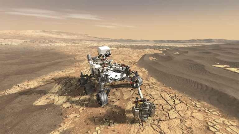Rover da NASA começou oficialmente a busca por vida em Marte