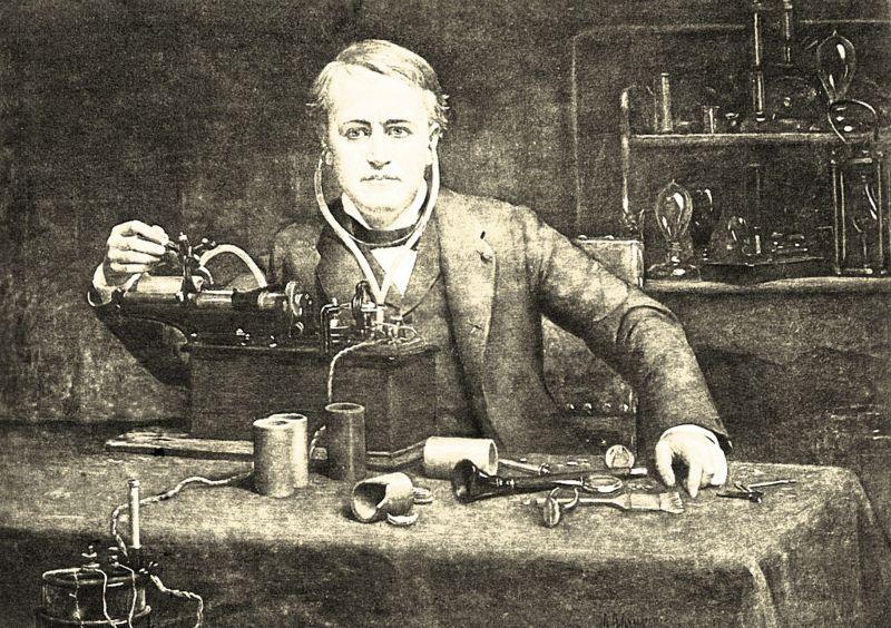 O mistério das gravações de voz humana feitas antes de Thomas Edison