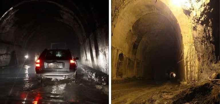 """Conheça a história do """"Túnel da morte"""", no Tajiquistão"""