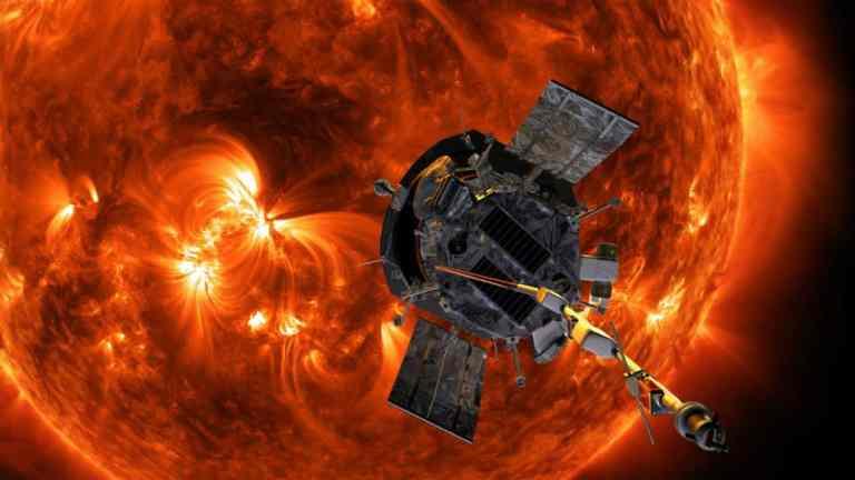 "Essa nave espacial da NASA ""tocou"" a camada externa do sol"