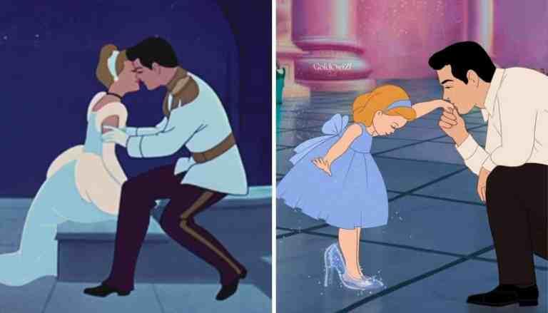 Como seriam 7 príncipes da Disney como pais