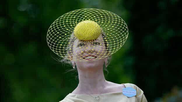 10 chapéus mais originais do Royal Ascot 2021