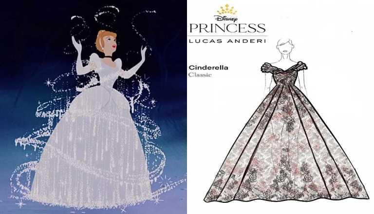 Brasil tem sua primeira linha de vestidos de noiva inspirados nas princesas da Disney