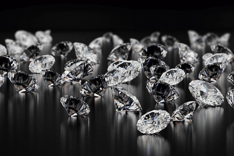 Alguns diamantes raros se formam a partir de restos mortais de criaturas que já viveram na Terra