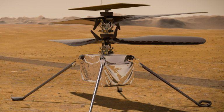 Missão da NASA em Marte teve uma atualização empolgante
