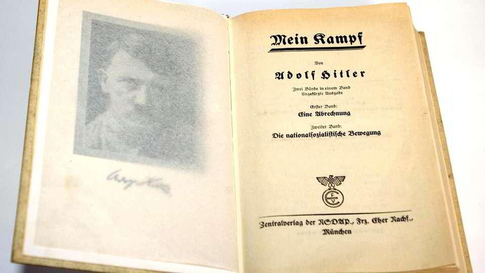 O que foi encontrado no testamento de Hitler?