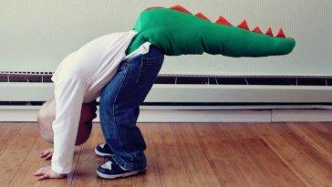 Crianças apaixonadas por dinossauros - Inteligência mais desenvolvida fatos e eventos