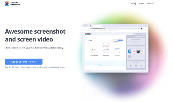 Capture and annotate your screenshots with AwesomeScreenshot