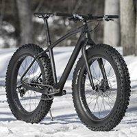 23lb LaMere Carbon Fat Bike w Carbon Wheels & Shimano 1x10