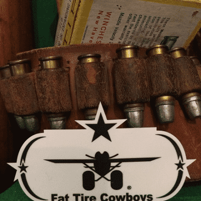 Fat Tire Cowboys Star Sticker
