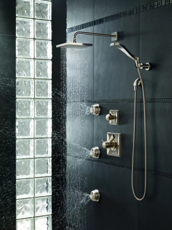 Faucetcom  Dryden Monitor 17 Series Shower System RB in