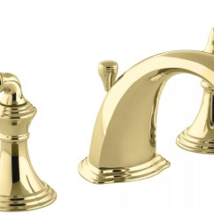 Kohler Brass Kitchen Faucet Pictures Of Islands K 394 4 Pb In Polished By
