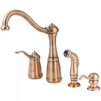 Faucet.com | T26-4NRR in Antique Copper by Pfister