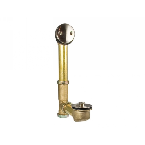 moen kitchen faucets warranty cabnets price pfister 018-310k - bathtub drain assembly brushed ...