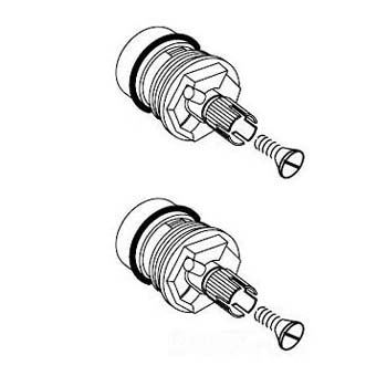 American Standard 952550-0070A Thermostatic Valve Kit (2
