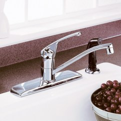 American Standard Quince Kitchen Faucet Diy Cabinet Spray Faucets: Faucets With Side At Depot