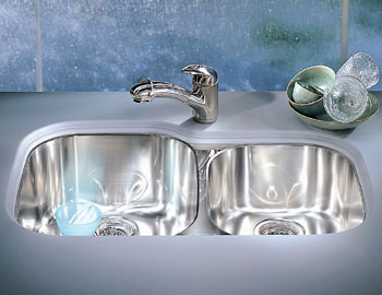franke rgx 160 regatta double bowl undermount stainless steel kitchen sink