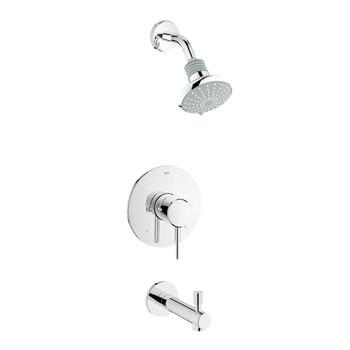 Grohe 35009001 Concetto Pressure Balance ShowerTub Trim