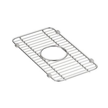 Kohler K-5139-ST Iron/Tones Smart Divide Small Sink Rack